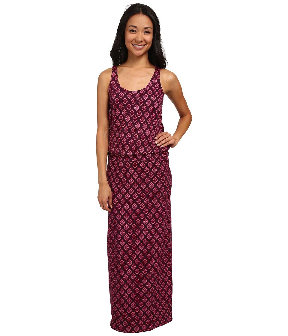Carve Designs - Anderson Maxi Dress (Plum Riveria) Women's Dress