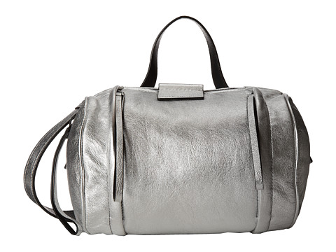 Marc by Marc Jacobs - Moto Metallic Barrel (Argento) Duffel Bags
