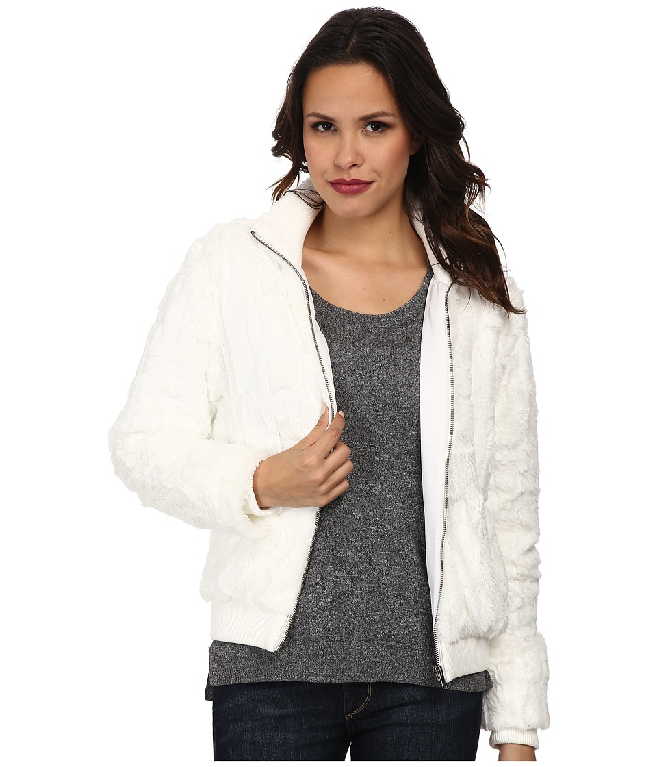 Sanctuary - Urban Bomber (Winter White) Women's Coat