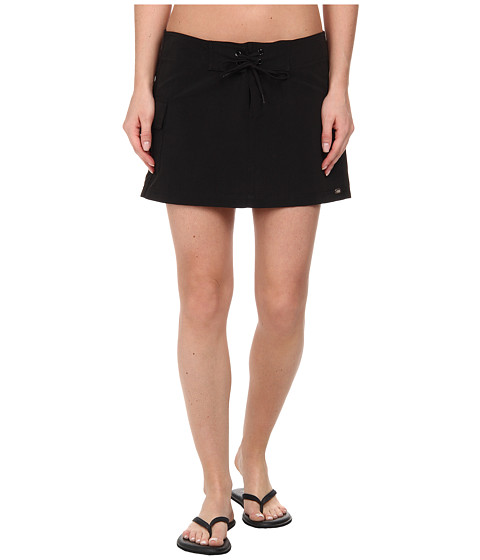 Carve Designs - Paddler Skirt (Black) Women's Skirt