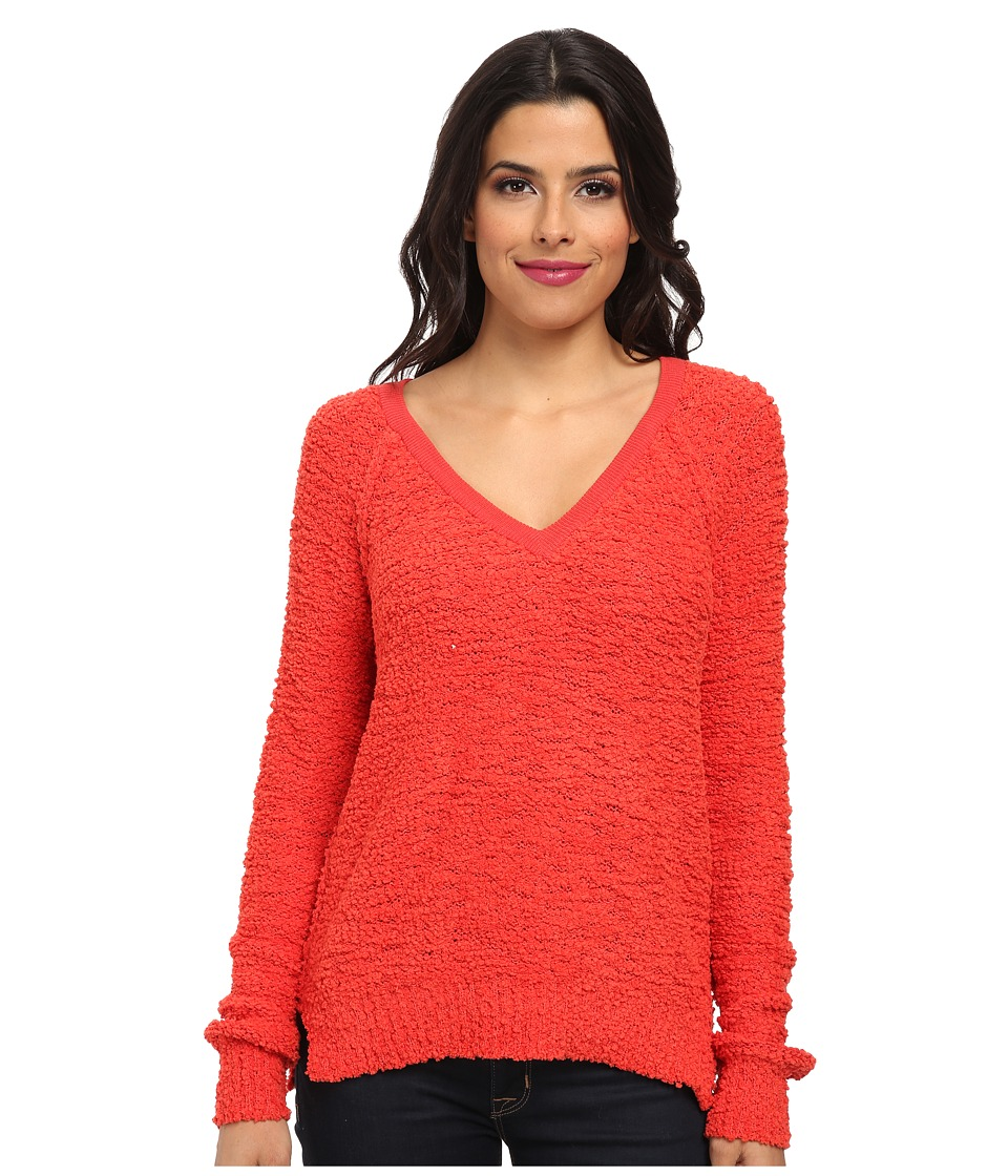 Sanctuary - Teddy Bear Sweater (Aurora Red) Women's Sweater