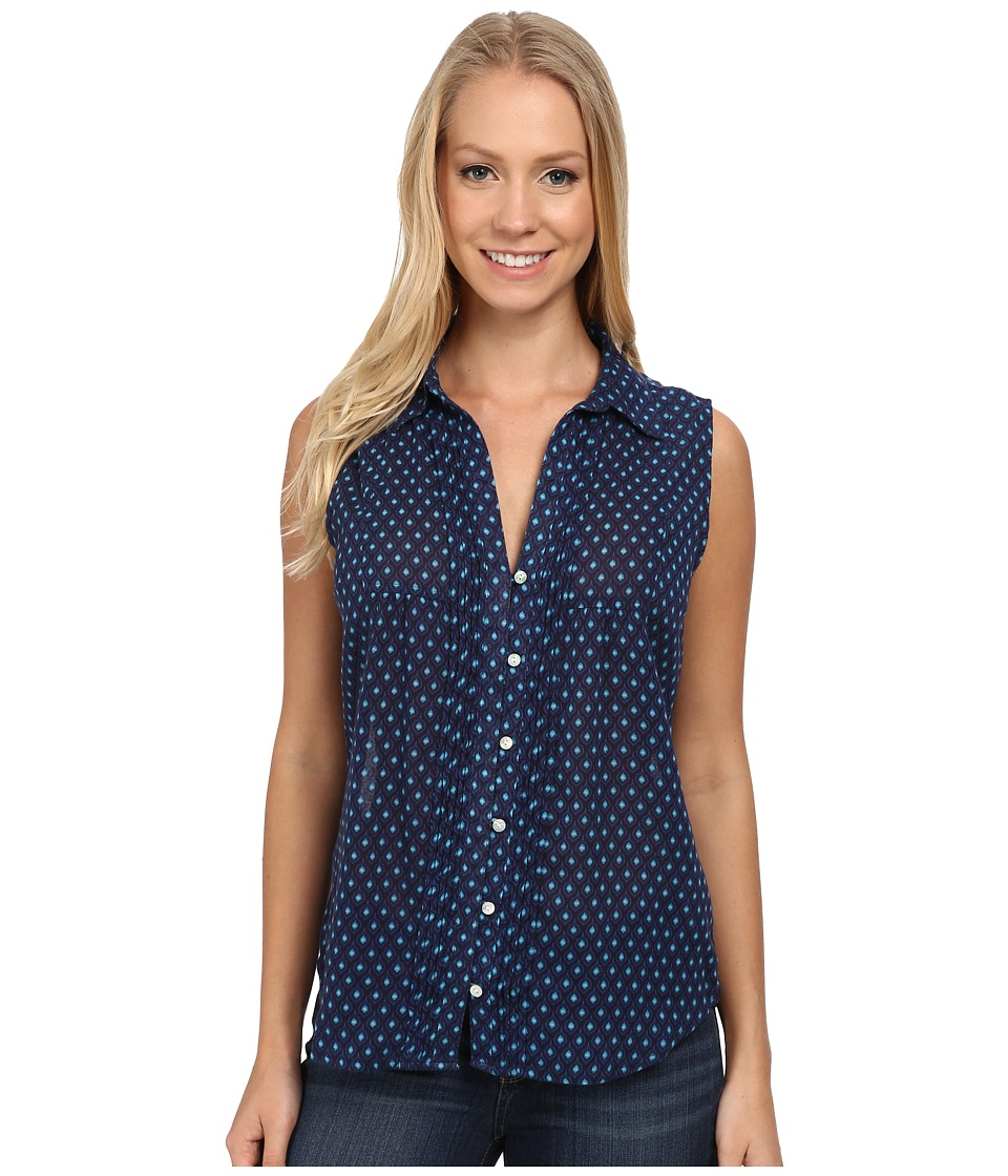 Carve Designs - Napali Shirt (Anchor Mini Riviera) Women's Sleeveless