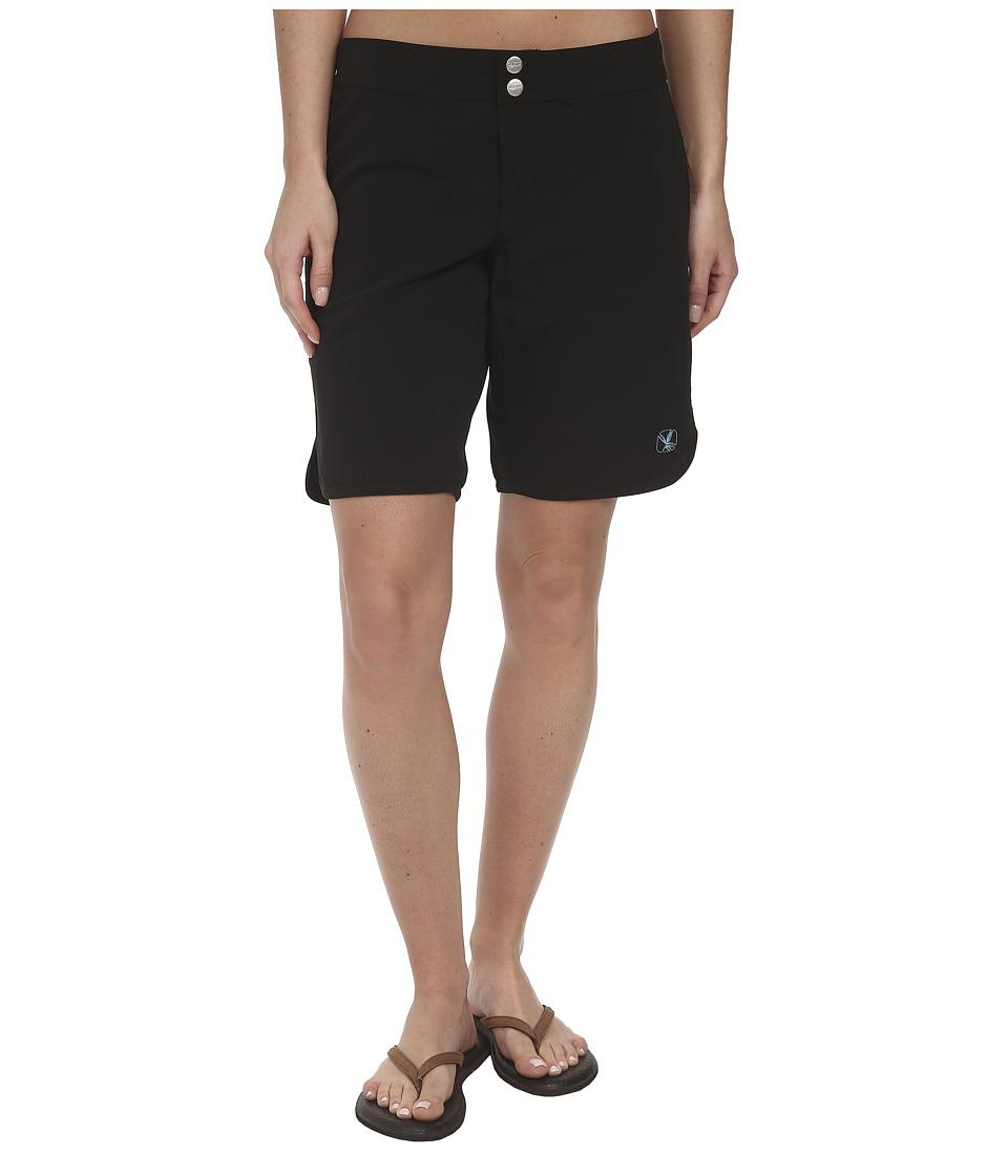 Carve Designs - Pipeline Short (Black) Women's Swimwear