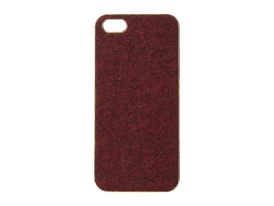 Scotch & Soda - Wooly iPhone 5 Hardcover Case (Red Rock Melange) Cell Phone Case