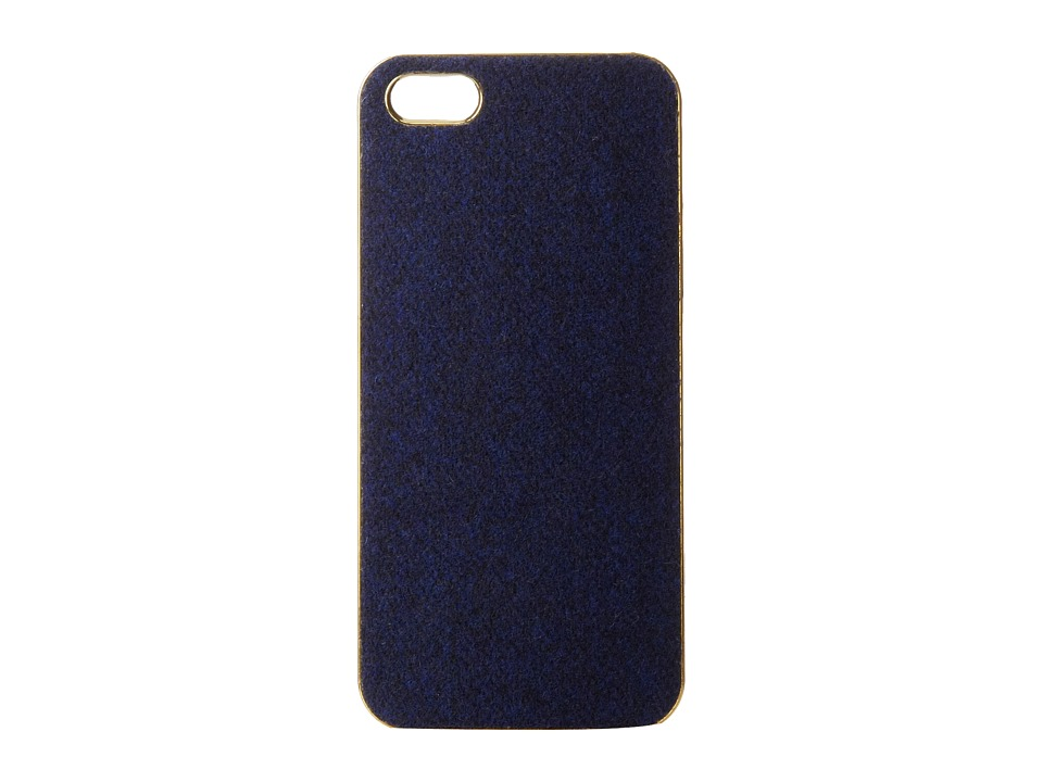Scotch & Soda - Wooly iPhone 5 Hardcover Case (Cobalt/Cobalt/Academy) Cell Phone Case