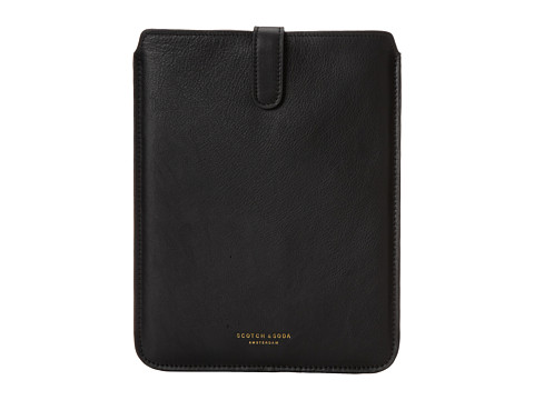 Scotch & Soda - Leather iPad Case (Black) Wallet