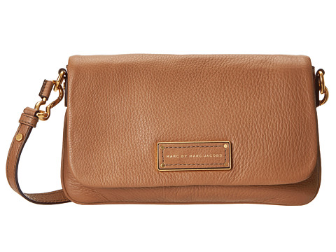 Marc by Marc Jacobs - Too Hot to Handle Flap Percy (Praline 1) Cross Body Handbags