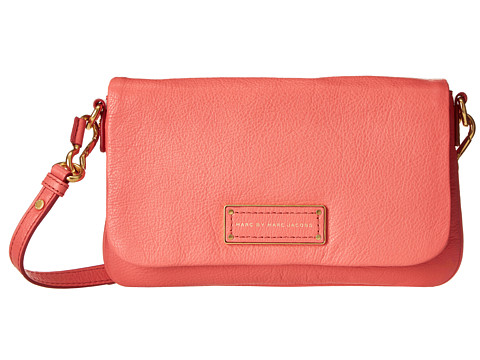 Marc by Marc Jacobs - Too Hot to Handle Flap Percy (Rose Bush) Cross Body Handbags