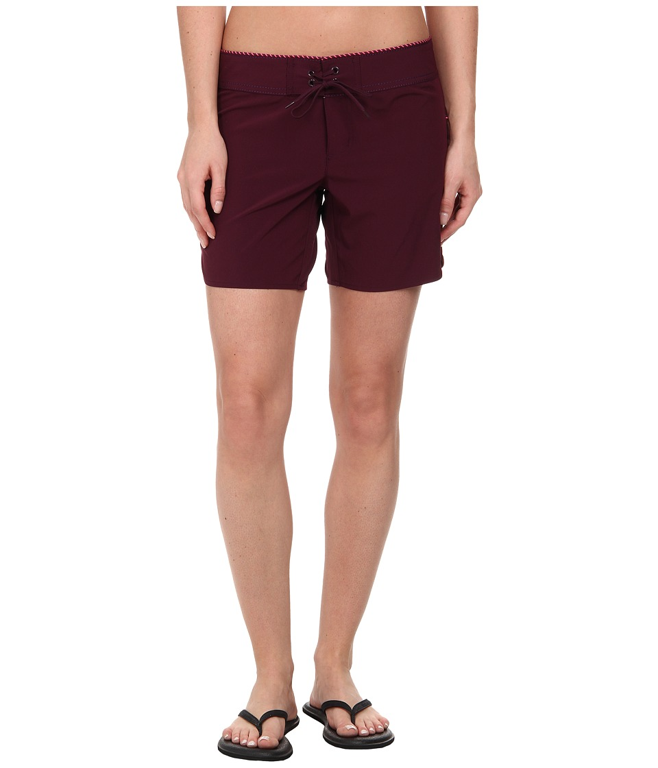 Carve Designs - Noosa Short (Plum) Women's Shorts