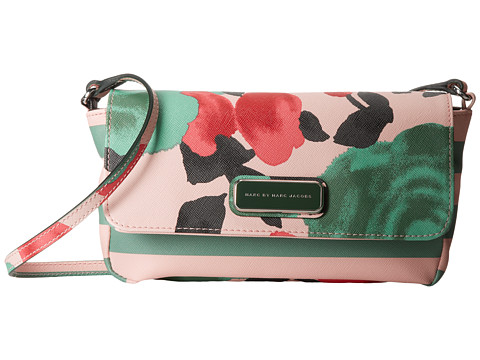 Marc by Marc Jacobs - Sophisticato Jerrie Rose Monica Crossbody (Desert Rose Multi) Cross Body Handbags