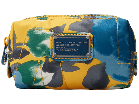 Marc by Marc Jacobs - Pretty Nylon Jerrie Rose Makeup Cosmetic (Yellow Jacket Multi) Cosmetic Case