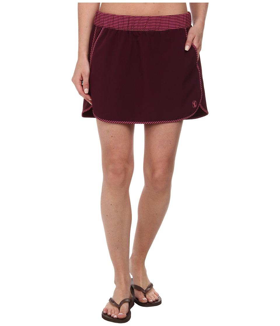 Carve Designs - Noosa Skirt (Plum w/ Plum Tides) Women's Skirt