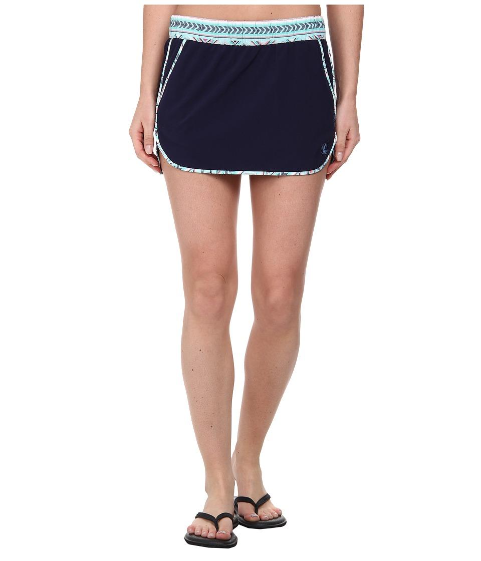Carve Designs - Noosa Skirt (Anchor w/ Pool Bali) Women's Skirt