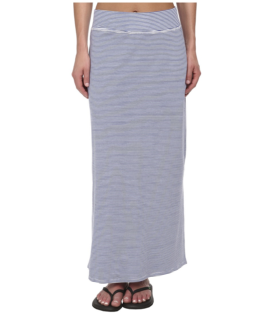 Carve Designs Aloha Maxi Skirt (Azure Tropez) Women
