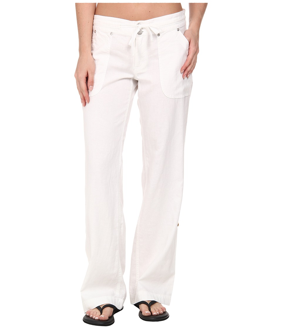 Carve Designs - Kailua Pant (White) Women's Casual Pants