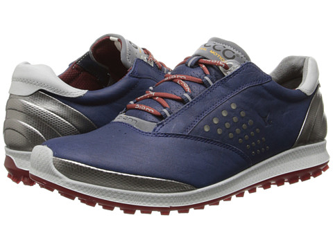ECCO Golf - BIOM Hybrid 2 (Denim Blue/Brick) Women