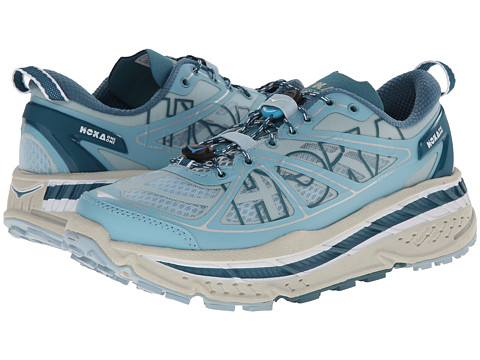 Hoka One One - Stinson ATR (Aqua Blue/Sterling Blue) Women's Running Shoes