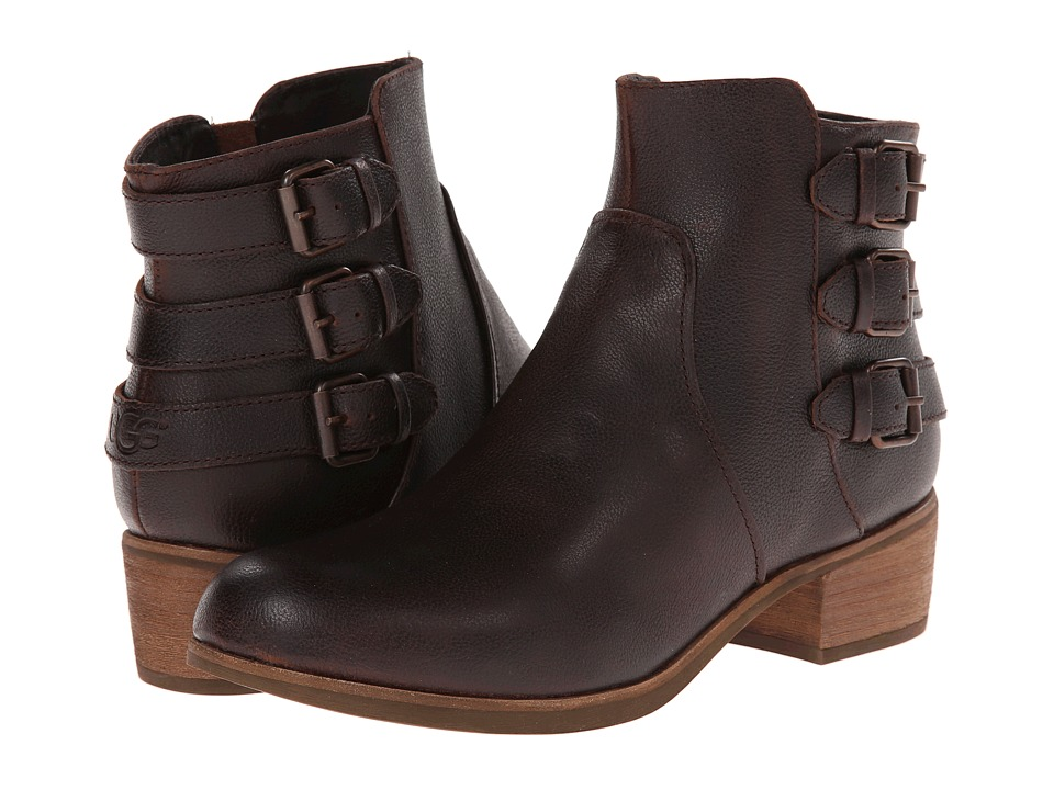 UGG - Volta (Chocolate Leather) Women's Dress Zip Boots