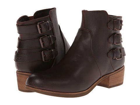 UGG - Volta (Chocolate Leather) Women's Dress Zip Boots