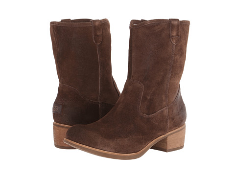 UGG - Rioni (Chocolate Suede) Cowboy Boots