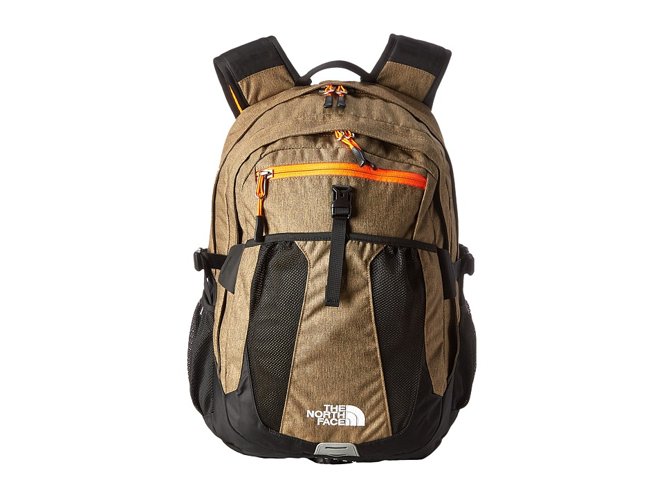 The North Face - Recon (Utility Brown Heather/Power Orange) Backpack Bags