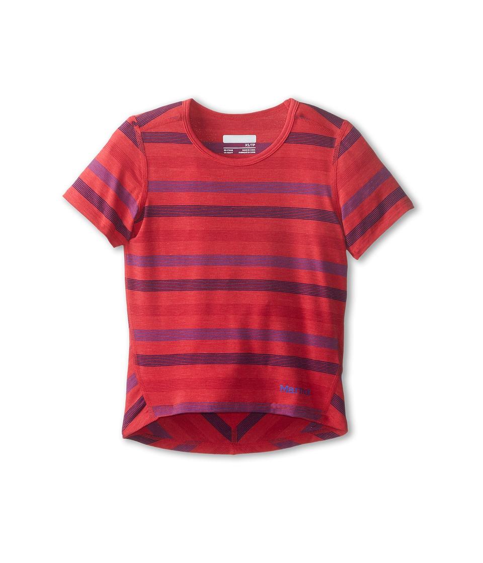Marmot Kids - Gracie S/S Top (Little Kids/Big Kids) (Summer Pink) Girl