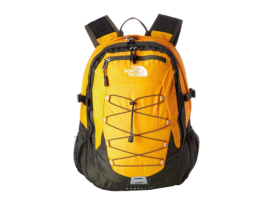 The North Face - Borealis (Zinnia Orange/Black Ink Green) Backpack Bags