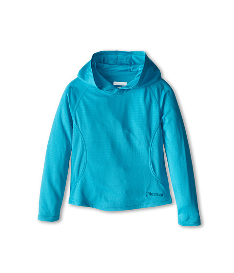 Marmot Kids - Kylie Hoody (Little Kids/Big Kids) (Sea Breeze) Girl