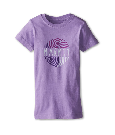 Marmot Kids - Lily Pond Tee S/S (Little Kids/Big Kids) (Violet Mist) Girl's T Shirt