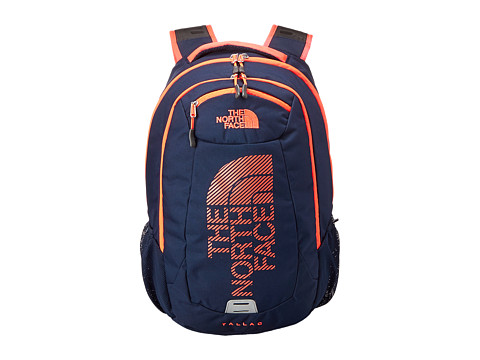 The North Face - Tallac (Cosmic Blue/Rocket Red Graphic) Backpack Bags