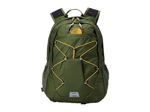 The North Face - Jester (Terrarium Green/Zinnia Orange) Backpack Bags
