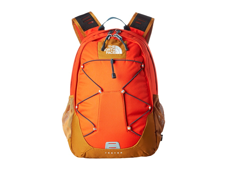 The North Face - Jester (Acrylic Orange/Timber Tan) Backpack Bags