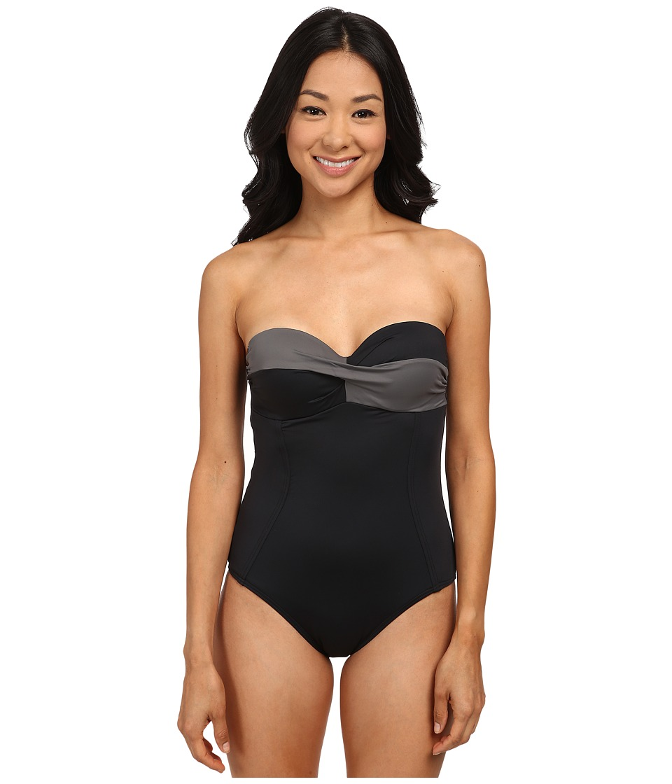Lole - Uvita One-Piece (Black) Women's Swimsuits One Piece