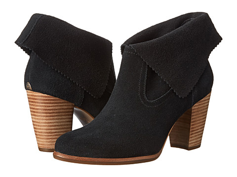 UGG - Thames (Black Suede) Women's Dress Pull-on Boots
