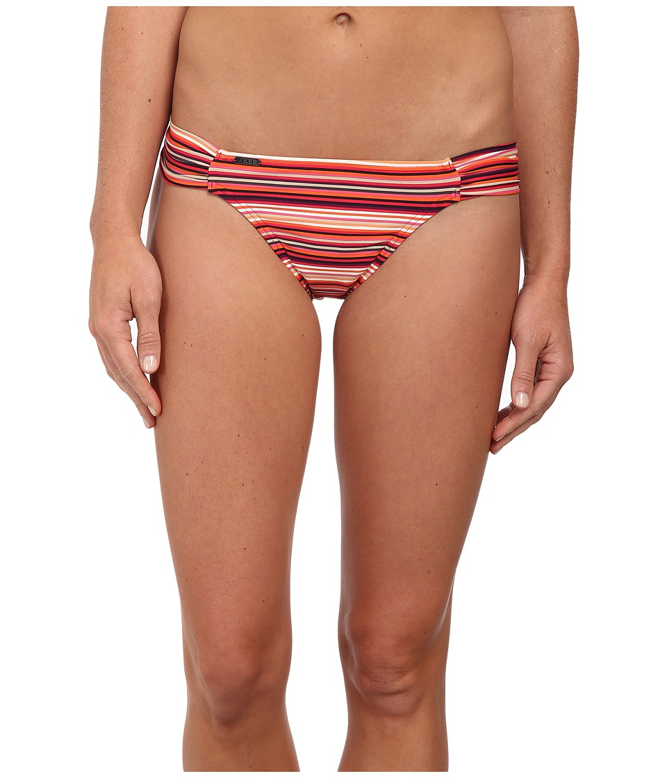 Lole Rio Low Swim Bottom (Rhubarb Tira) Women