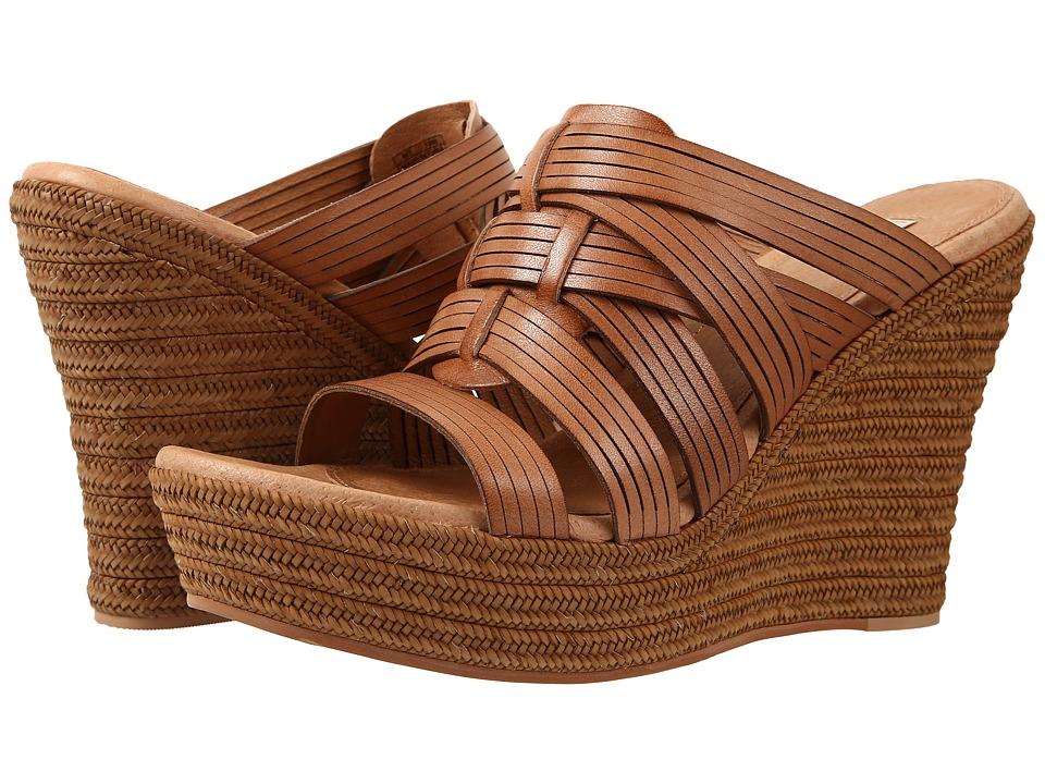 UGG - Melinda (Suntan Leather) Women's Wedge Shoes