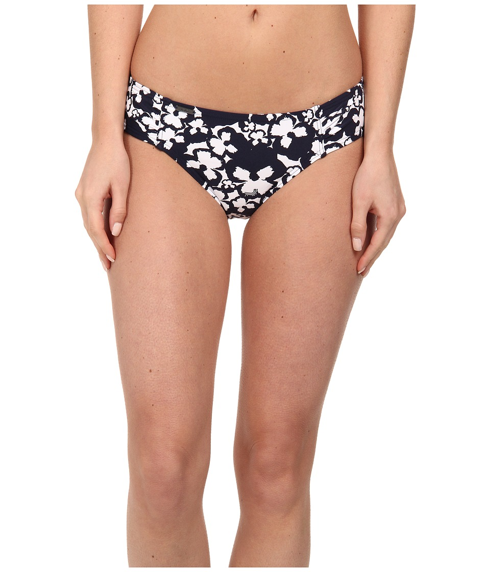 Lole Carribean Medium Swim Bottom (Amalfi Blue Pansy) Women