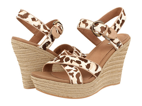 UGG - Jazmine Calf Hair Leopard (Spring Leopard Calf Hair) Women's Wedge Shoes