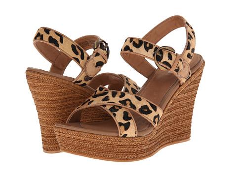 UGG - Jazmine Calf Hair Leopard (Chestnut Leopard Calf Hair) Women's Wedge Shoes