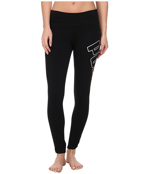PUMA - Logo Legging (Black 2) Women's Casual Pants