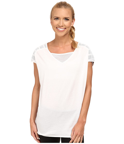 PUMA - Loose Fit Tee (White/White) Women's T Shirt
