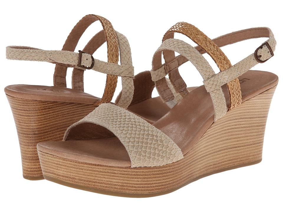 UGG - Lira Mar (Pearl Suede) Women's Wedge Shoes