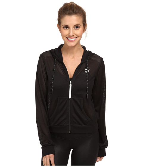PUMA - Mesh Cover Up (Black) Women
