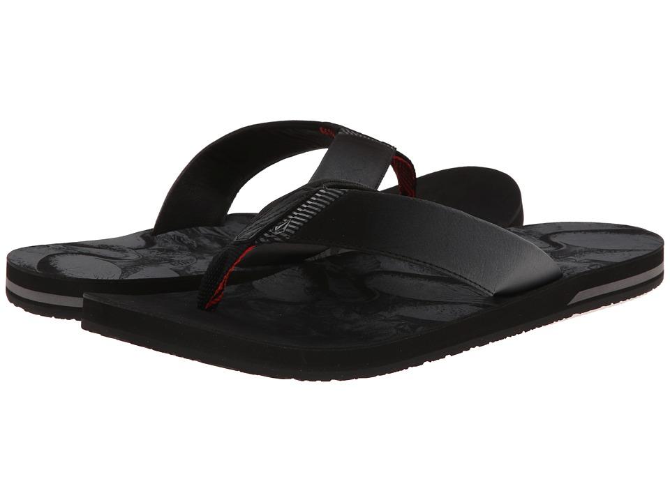 Volcom - Fader (Black) Men's Sandals