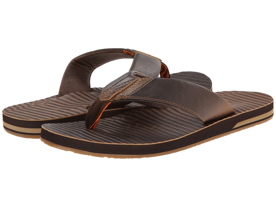 Volcom - Fader (Brown) Men's Sandals