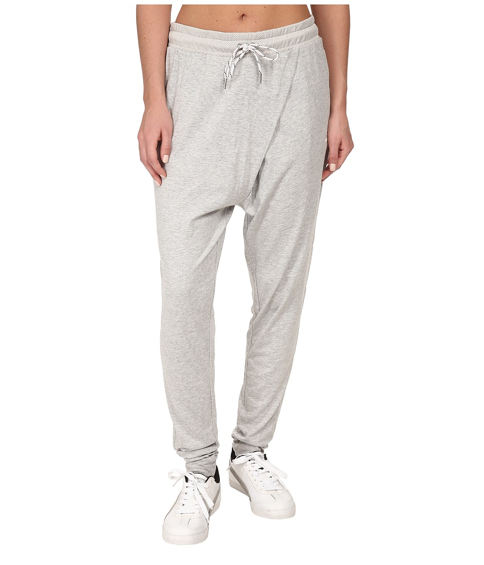 PUMA - Drop Crotch Pants (Light Gray Heather) Women's Casual Pants