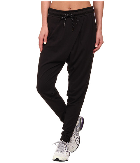 PUMA - Drop Crotch Pants (Black) Women's Casual Pants