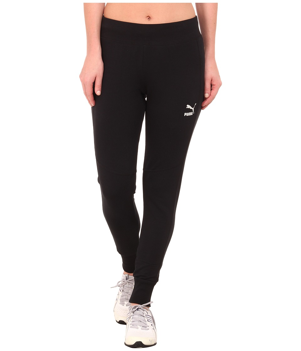 PUMA - Slim Pant (Black) Women's Casual Pants