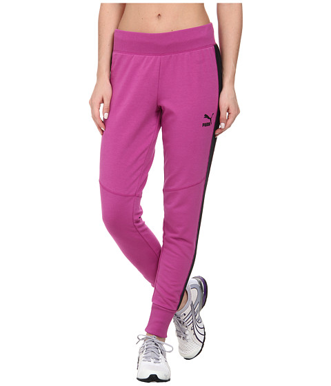 PUMA - Slim Sweatpant (Vivid Viola) Women's Casual Pants