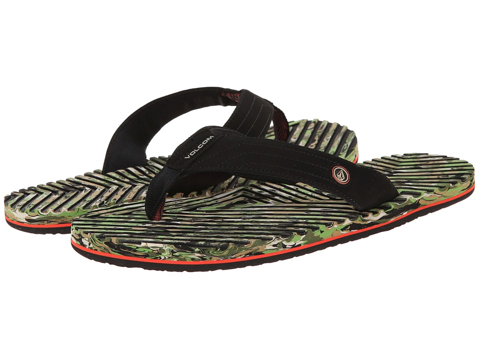 Volcom - Fraction (Camouflage) Men's Sandals
